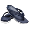 CROCS  swiftwater deck flip 204961 navy/white