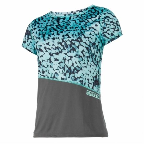 MYSTIC ž UV majica DIVA SS/800 grey