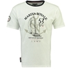 GEOGRAPHICAL NORWAY m majica JBOAT 415 white