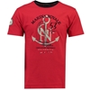 GEOGRAPHICAL NORWAY m majica JBOAT 415 red