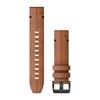 GARMIN pašček QuickFit 010-12863-05 brown leather