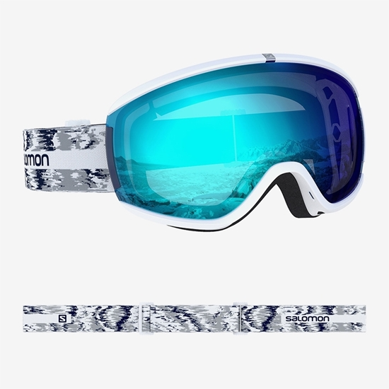 SALOMON ž smučarska očala L40846900 IVY WHITE GLITCH